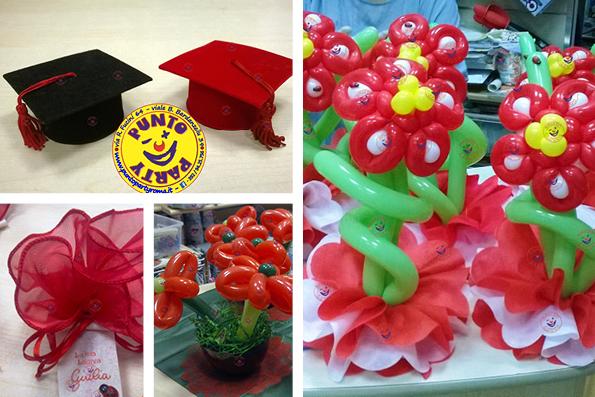 Un palloncino per ogni evento roma - Composizione palloncini da tavolo ...